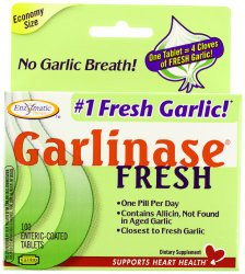 Garlinase garlic tablets